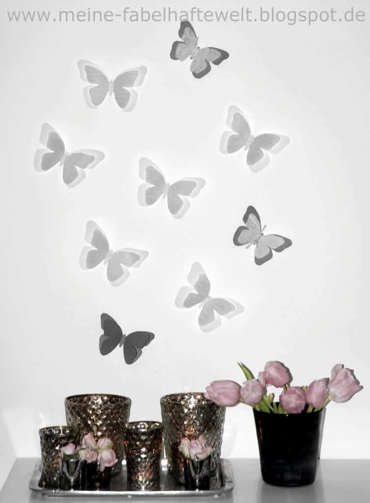 Schmetterlinge-Wand-7 | Meine fabelhafte Welt
