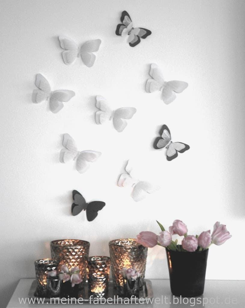Schmetterlinge-Wand-9   Meine fabelhafte Welt