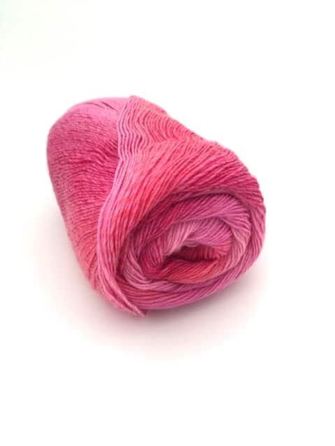 sokker 0019 pink Farbverlauf