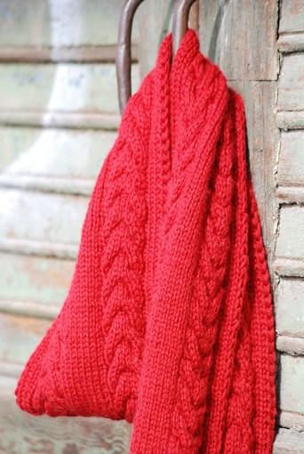 Schal stricken Herbstsonne 11 72