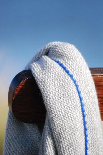 Dreieckstuch Kaschmir Oktoberbrise 1
