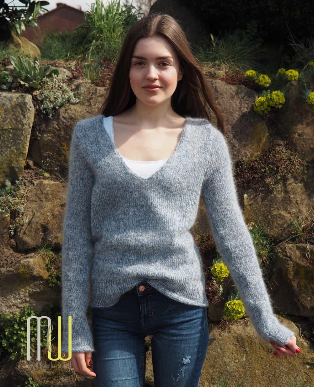 Pullover stricken Cotton Candy