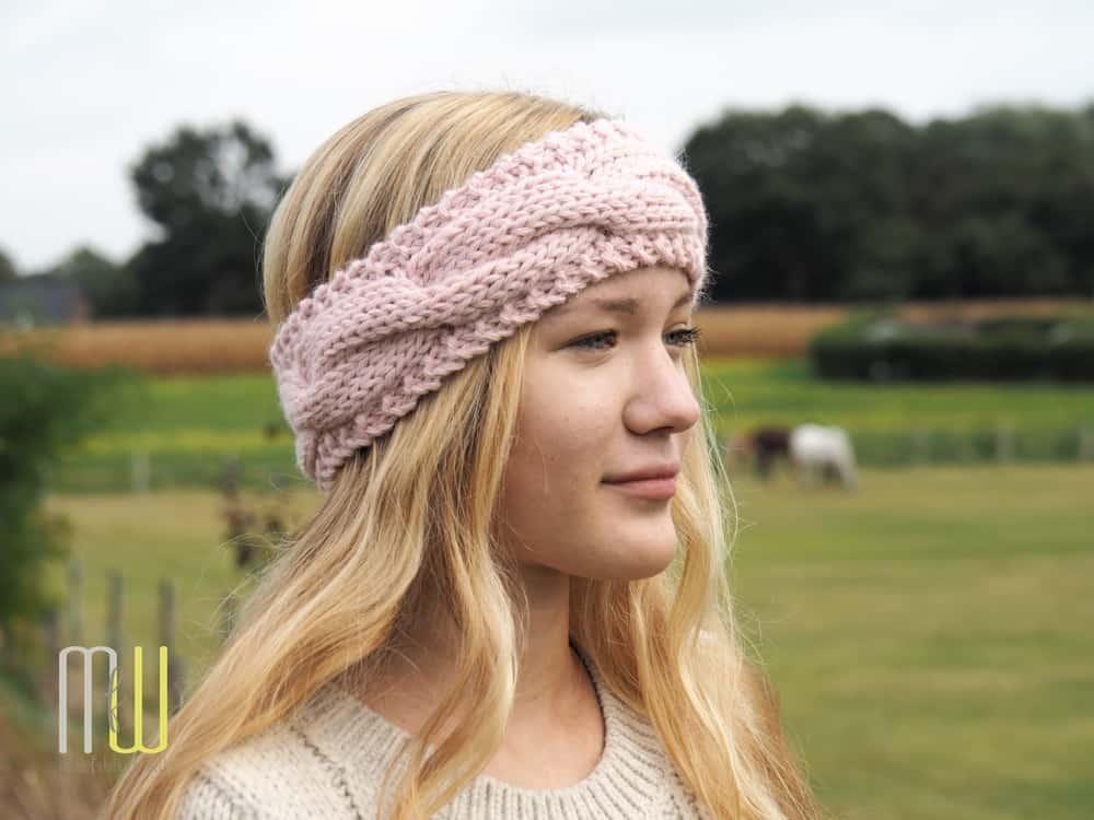 Beste Ein Stirnband Muster Gestrickt Fotos - Schal-Strickende Muster ...