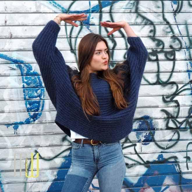 Pullover Mit Fledermausärmeln Meine Fabelhafte Welt