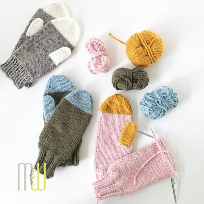 Handschuhe stricken - eigentlich ganz einfach | Meine fabelhafte Welt