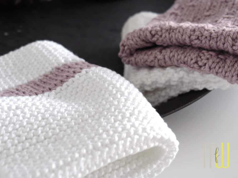 handtuch stricken